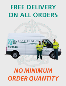 Free delivery on all orders, no minimum order quantity