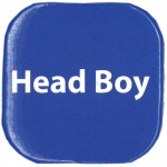 Button Badges, Pack of 20, Head Boy - Blueabc